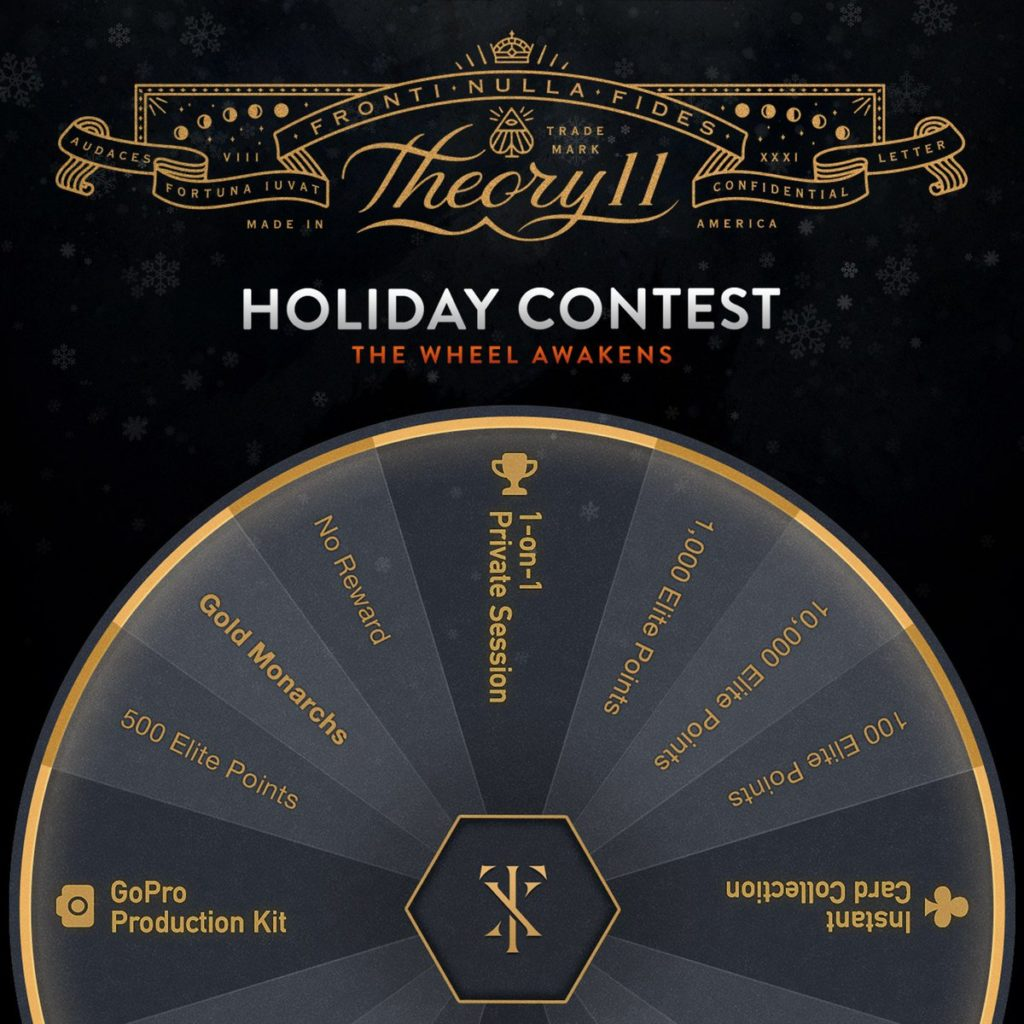 Theory11 Holiday Contest