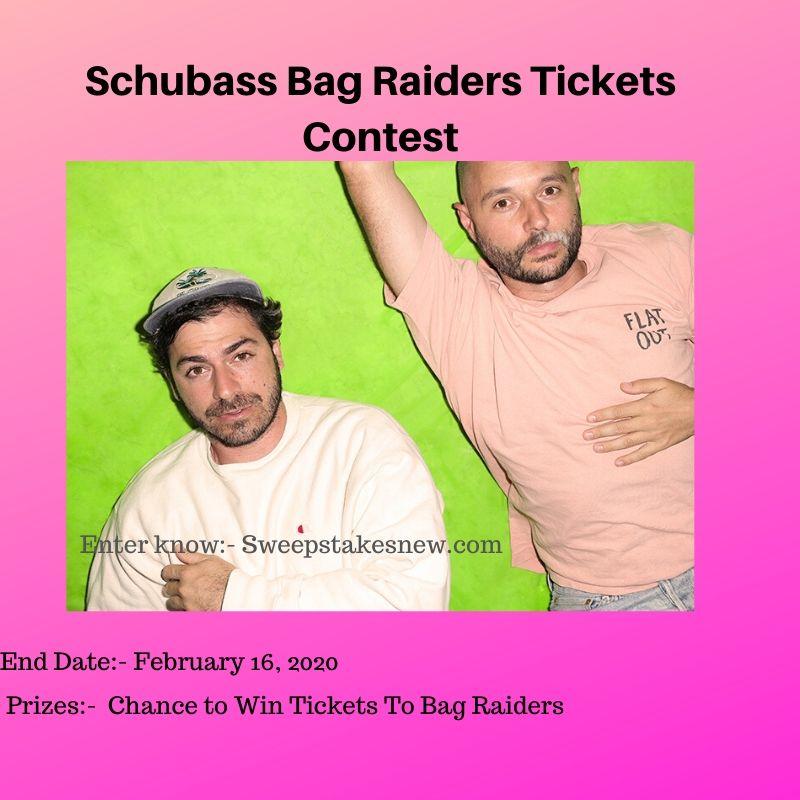 Schubass Bag Raiders Tickets Contest