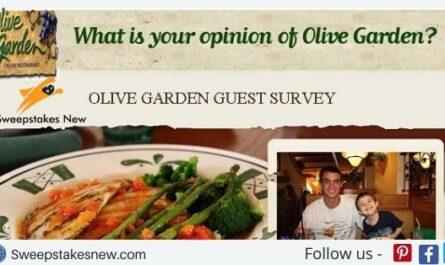 Olive Garden Guest Satisfaction Survey