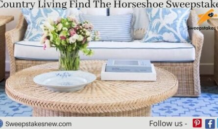 Country Living Find The Horseshoe Sweepstakes