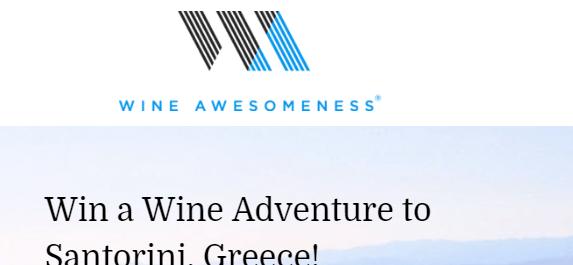 Wine Awesomeness Sweepstakes