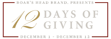Boars Head 12 Days of Giving Sweepstakes