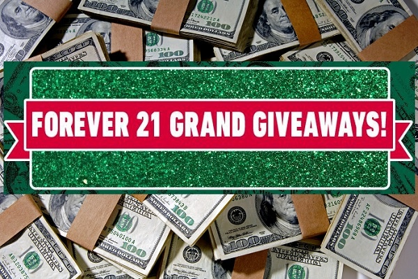 Forever 21 Grand Giveaways 2019