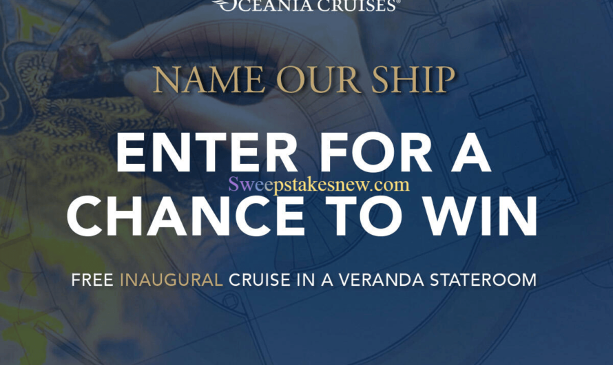 Oceania Cruises Name Our New Ship Contest