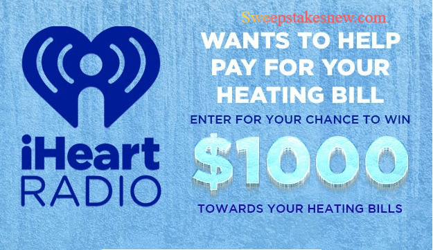 iHeartRadio Helps Pay Your Heating Bill Sweepstakes