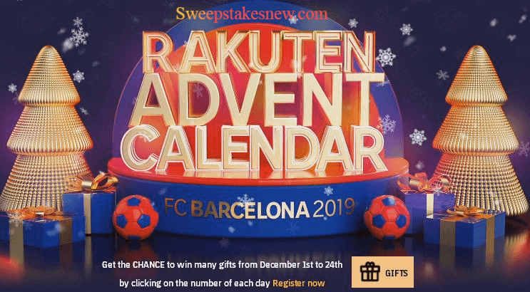 Rakuten FC Barcelona Instant Win Game