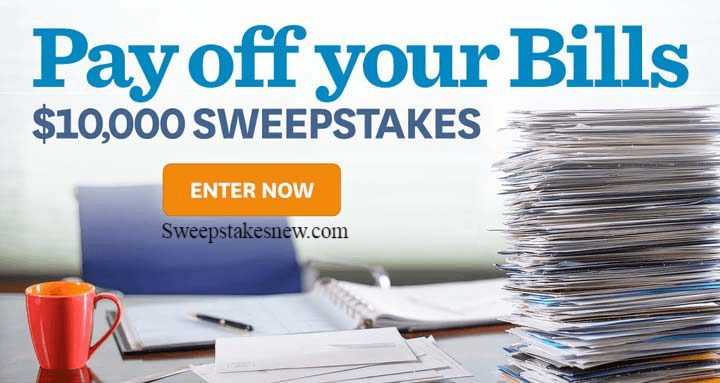 Martha Stewart Payoff Your Bills $10000 Sweepstakes