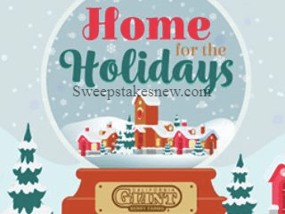 California Giant Home for the Holidays Sweepstakes