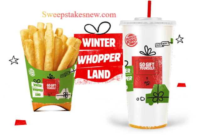 Burger King Winter Whopperland Instant Win Game & Sweepstakes