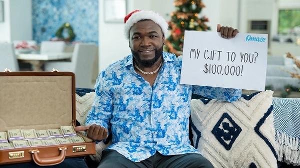Oamze David Ortiz $100k Sweepstakes