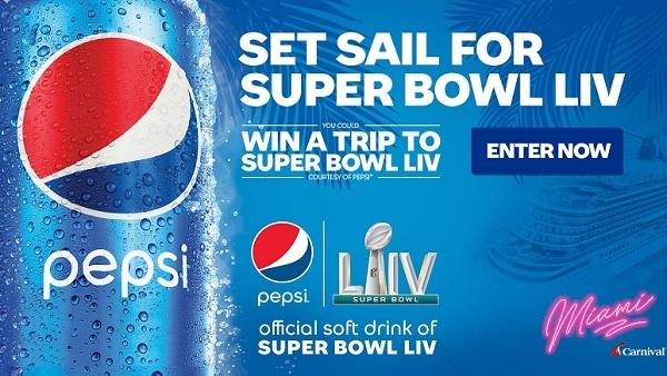 Pepsi Carnival Super Bowl LIV Sweepstakes