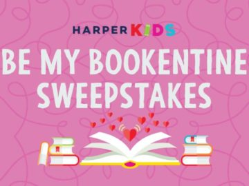 Harper Collins Be My Bookentine Sweepstakes