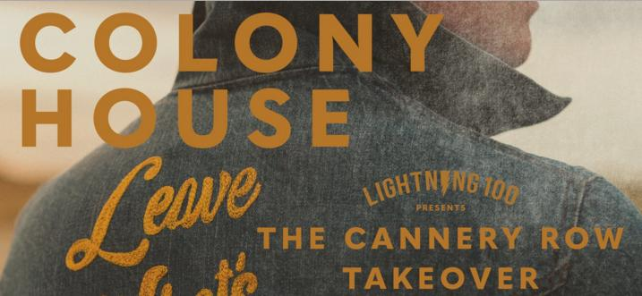 Colony House Cannery Takeover Sweepstakes