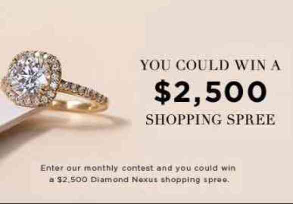 Diamond Nexus $2500 Shopping Spree Giveaway