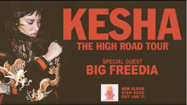 Kesha The High Road Tour Sweepstakes