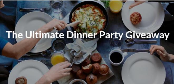 Kitchn Ultimate Dinner Party Giveaway