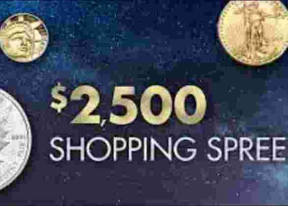 Littleton Coin January Shopping Spree Sweepstakes