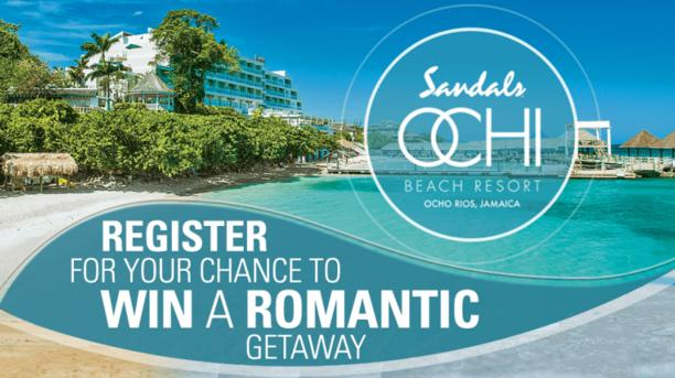 Romantic Getaway to Sandals Resorts Sweepstakes