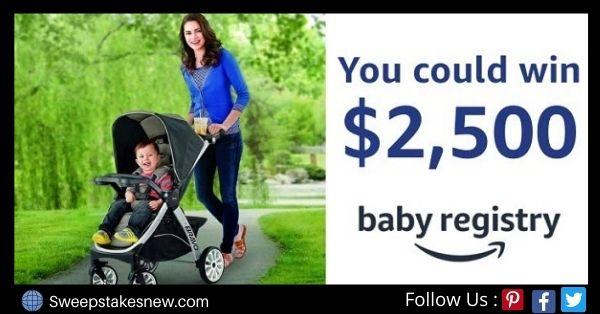 Amazon Baby Registry Sweepstakes
