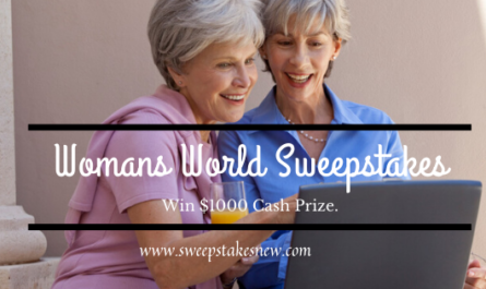 Womans World Sweepstakes