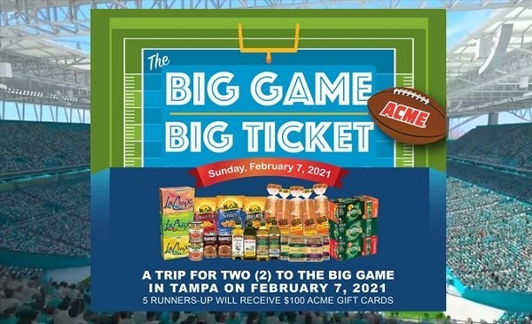 ACME Markets Super Bowl Sweepstakes