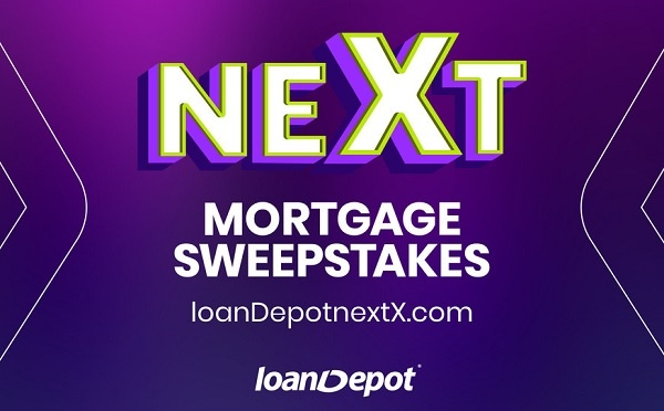 LoanDepot NextX Mortgage Sweepstakes