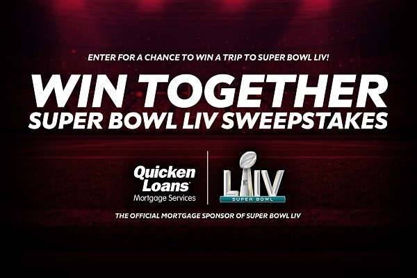 Quicken Loans Super Bowl LIV Sweepstakes