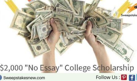 Niche Free Scholarship Money Contest