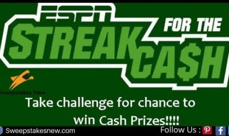 ESPN Streak For the Cash Challenge Contest