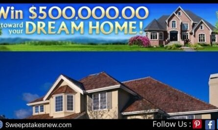 Pch.com $500000 Dream Home Sweepstakes