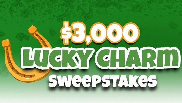 Frankly Media $3000 Lucky Charm Sweepstakes