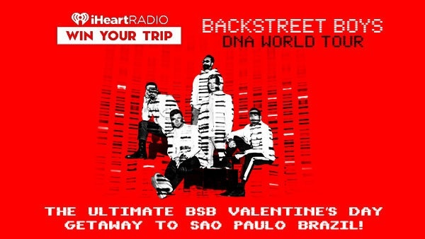 iHeartradio Ultimate BSB Valentines Day Getaway Sweepstakes