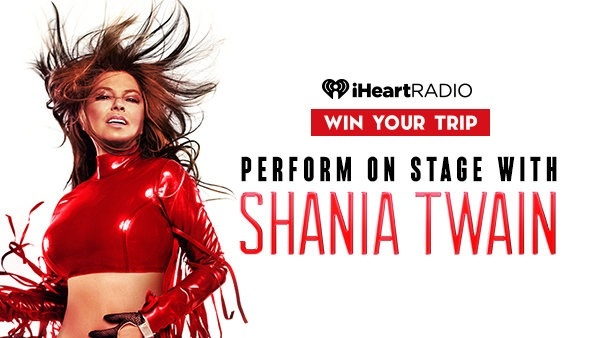 iHeartradio Shania in Vegas Sweepstakes (campaign.aptivada.com)