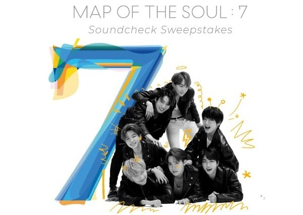 Map Of The Soul Seven Soundcheck Sweepstakes