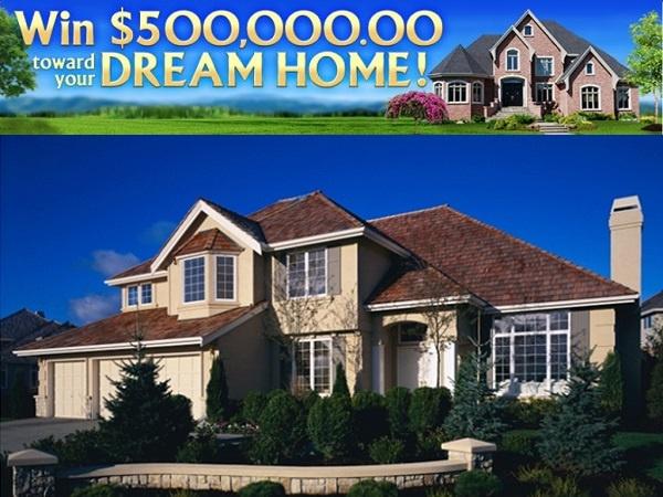 Pch.com $500000 Dream Home Sweepstakes