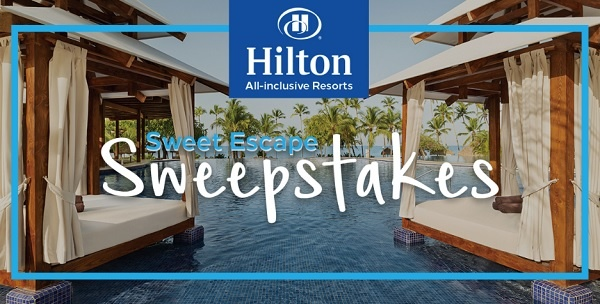 Hilton Resorts Sweet Escape Sweepstakes