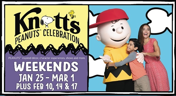 Knotts Peanuts Celebration Sweepstakes 2020