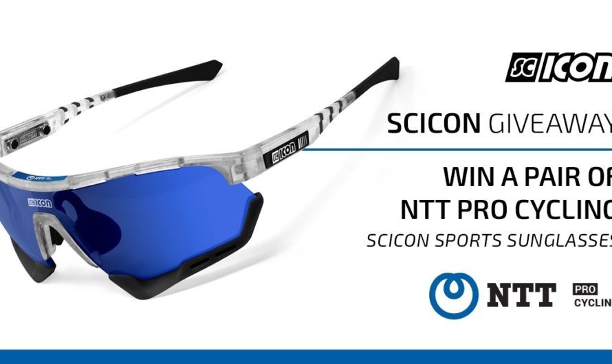 Scicon Sports NTT Pro Cycling Giveaway