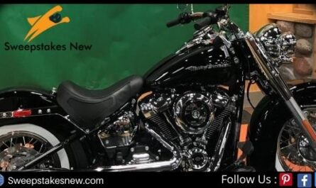 Blackburn and Green Harley Motorcycle Giveaway 2020