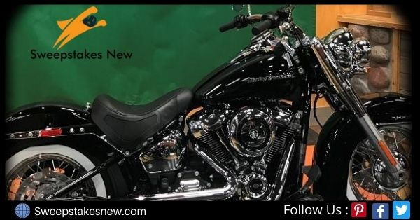 Blackburn and Green Harley Motorcycle Giveaway