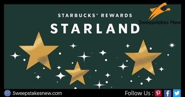 Starbucks Rewards Starland Sweepstakes