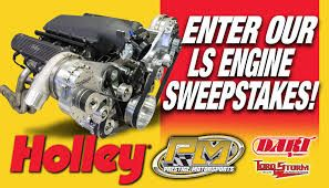 LS Engine Sweepstakes - holley.com