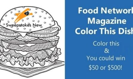Food Network Magazine Color This Dish Contest