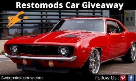 Restomods Car Giveaway