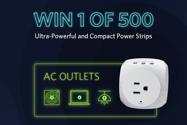 Anker Power Strip Giveaway 2020