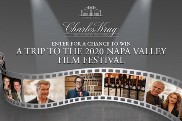 Charles Krug Ticket to The Stars Sweepstakes