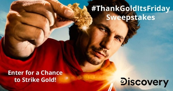 Discovery.com Thank Gold Its Friday Sweepstakes