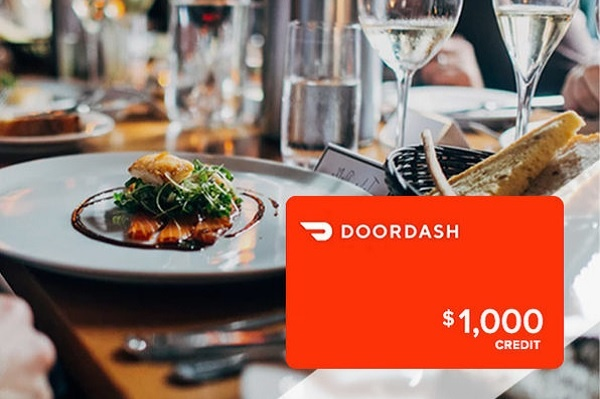 DoorDash Gift Card Giveaway 2020