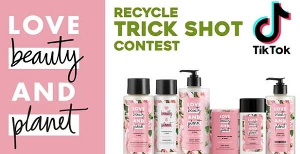 Ellen DeGeneres Recycle Trick Shot TikTok Contest 2020