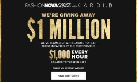 Fashion Nova Cares Giveaway